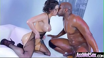 Anal Sex Scene With Hot Big Butt Oiled Girl (Aleksa Nicole) video-04
