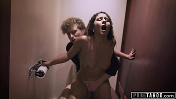 PURE TABOO Nympho Wife Gets Risky Creampie From Stranger