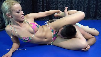 Bikini wrestling game video Cherry kiss vs. imi - 15 - short