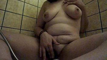 Shower Masturbation with great orgasm amateur