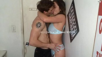 Aaron and Nikky Kissing Video 2