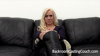 Big Tits MILF Creampie on Casting Couch