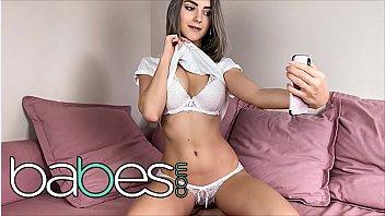 Busty Horny Babe (Eva Elfie) Masturbates By Herself - Babes