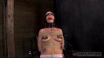 Porn iron dick - Stripping inside a petite iron cage