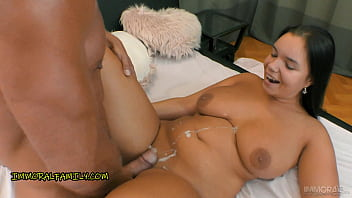 HUGE TITS Hottie Sofia Lee ANALLY TAG TEAMED by FATHER and SON