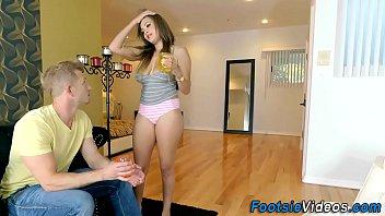 Kinky teen gets  eaten out