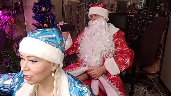 Santa Claus Hard And Roughly Fucks Snow Maiden Xmas 15 Min