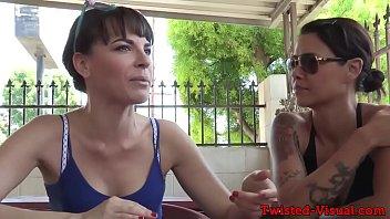 Public lesbian pussyrubbing dyke before oral 6 min