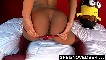 Both Hairy Arm Pits Fetish And Black Asshole Sphincter Posing Slow Motion, Msnovember Winking Butt Hole Open And Closed Shaking Thick Ass Cheeks , Tight Panties Pulled Down To Young Thick Beautiful Thighs 4k Sheisnovember صورة
