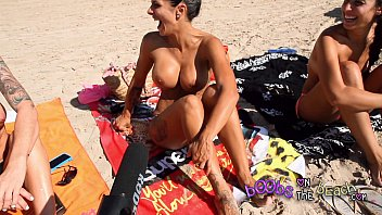 Urlaub nude - Topless beach interviews with real horny sluts abroad on vacation