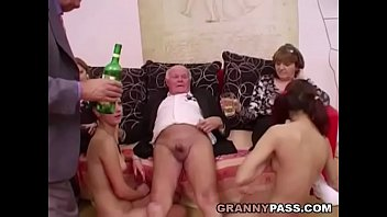 Dance for mature older Young girls dance for grandpa before suck his cock