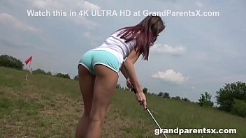 Grand Parents just Fucked Me on the Golf Course