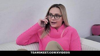 Kinky Slut (Aften Opal) Impregnated By A Complete Stranger - TeamSkeet