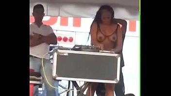 Topless Dj video
