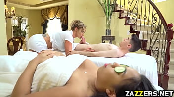 Eva Notty continue to bounce her pussy on top 7 min
