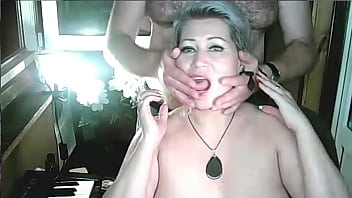 Young Boss Exposes His Older Secretary To A Lustful Dirty Slut! All Three Holes Of This Old Whore Are In For A Serious Exam! English Subtitles...