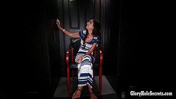 Gloryhole Secrets sexy spinner cum mouthfuls thumbnail