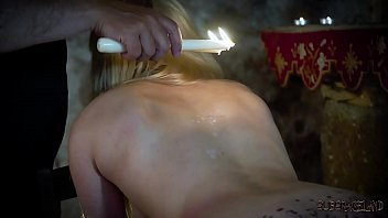Candee Licious gets throat fucked endures tied up bondage and rough porno sex صورة