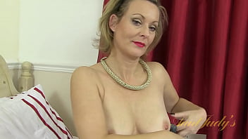 AuntJudys - 43yo UK Auntie Betsy in Stockings and High Heels 14 min