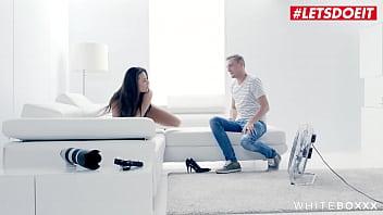 #LETSDOEIT - #Vanessa Decker - Gorgeous Model Rides On A Big White Cock - FULL SCENE