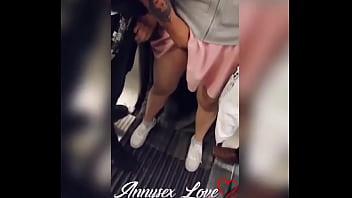 Annysex Love - Arrimon y manoseo en el metro de la Ciudad de México 45 sec