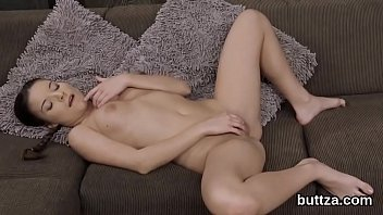 Ravishing tight sweetie gets her spread honey pot and tiny anal reamed