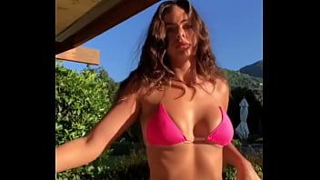 Venessa huggins nude Priscilla huggins in thong