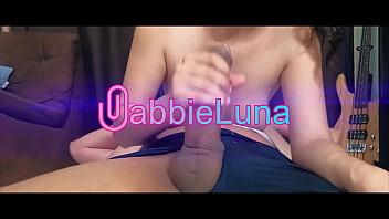Gabbie Luna – Riding a Big Thick Cock