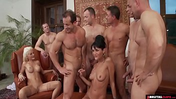 Longest anal video clips - Birthday party gangbang