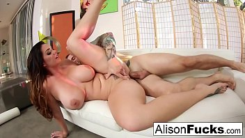 Gonzo fucking with stacked Alison Tyler and a big cock