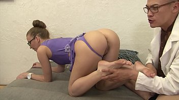 Doctors havins sex - Chinese doctor fucks the hot body milf in leotard hard rough with facial