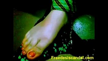 Hot Footjob By Desi Girl