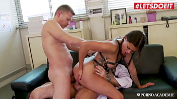 #LETSDOEIT  Alice Axx  DP DREAM WITH A SEXY ASS FRENCH COLLEGE GIRL