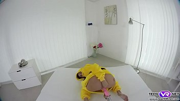 VR pokemon babe Nicole Love plays her tight pussy thumbnail