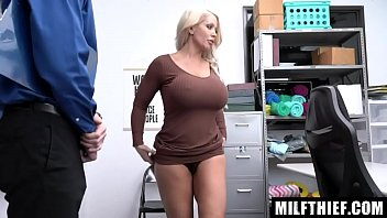 Cashier Accuses Hot Milf of Shoplifting Precious Jewelry From the Mall - Alura Jenson thumbnail