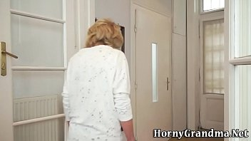 Ancient Granny Gets Fuck