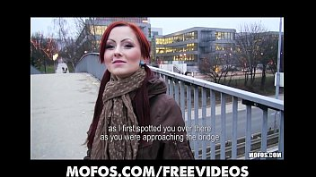 Flashers public amateur - Czech redhead is paid cash to flash and suck dick in public