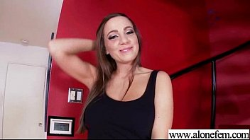 Teen Sexy Hot Amateur Girl Insert In Holes Erotic Toys vid-01