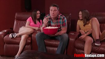 Blessed with two HOT girls- Dad fucks DAUGHTERS