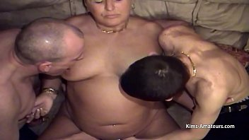 Larger mature get pleasured by son in laws while hubby fucks her