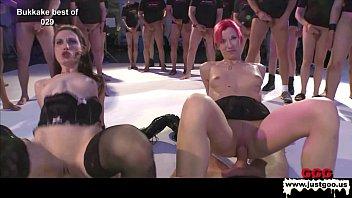 Sexy Bukkake Gangbang Sluts 12分钟