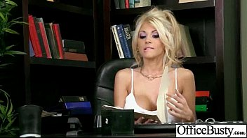 Hardcore Sex In Office With Big Round Boobs Horny Girl (kayla kayden) vid-15