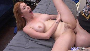Donavan phillips hairy - Milf trip - sexy redheaded milf gets her hairy pussy slammed