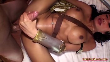 Trannies with big cock fantasy - Cosplay ladyboy mos barebacked