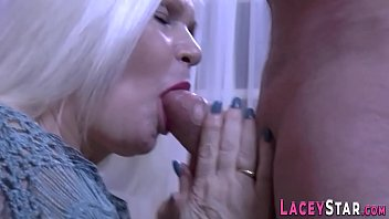 Granny sucks big dick and gets pounded thumbnail
