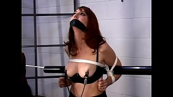 Bondage kendra promo video Kendra james bound, gagged, tortured in a dungeon