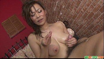 Ren Mizumori In Bikini Giving Blowjob And Cock Humping