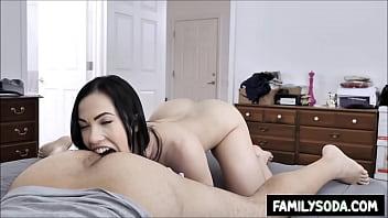 sister licks my ass while I sleep