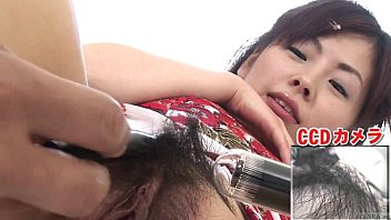 Asian hair up - Subtitled bottomless japanese pubic hair shaving in hd