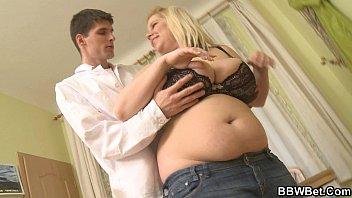 Busty fat girl  skinny guy hot sex sex